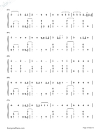 Thinking Out Loud-Ed Sheeran-Numbered-Musical-Notation-Preview-4