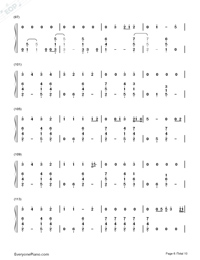 Thinking Out Loud-Ed Sheeran-Numbered-Musical-Notation-Preview-6