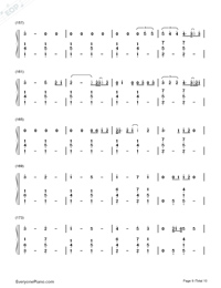 Thinking Out Loud-Ed Sheeran-Numbered-Musical-Notation-Preview-9