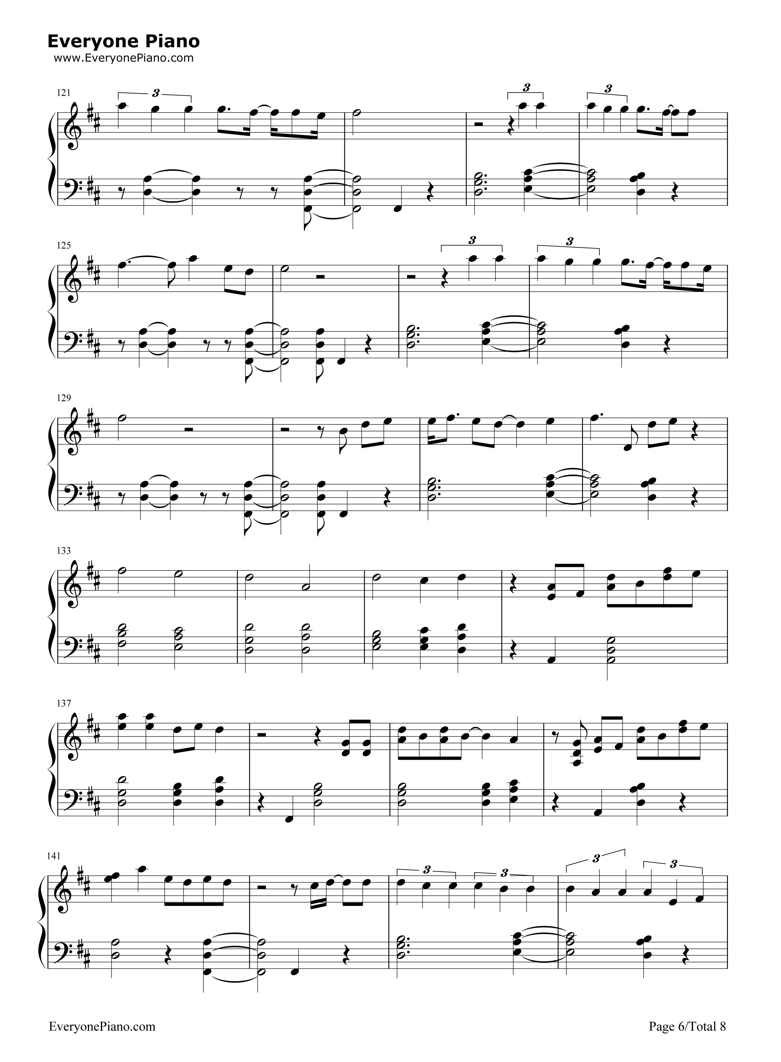 Thinking Out Loud-Ed Sheeran Free Piano Sheet Music & Piano