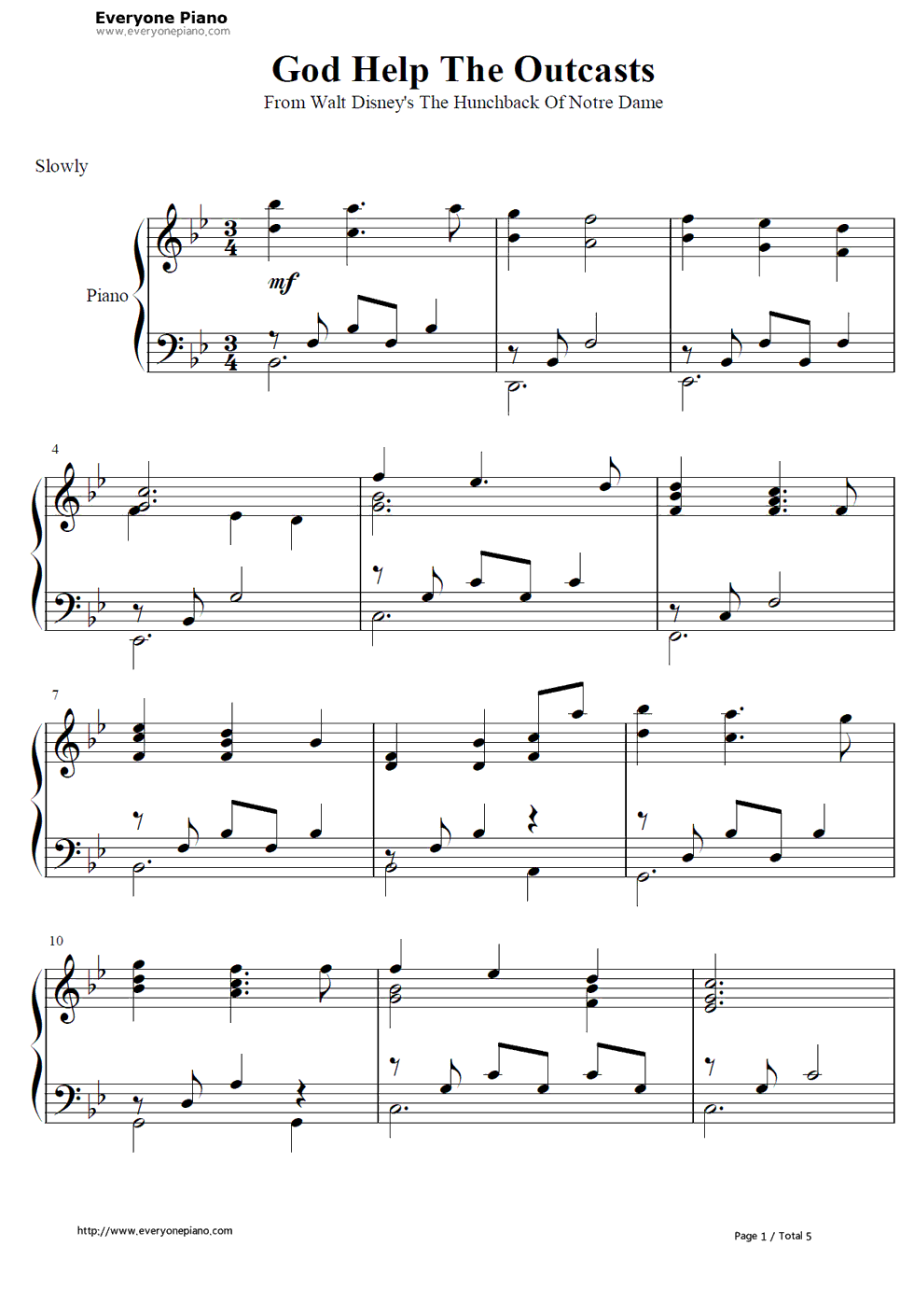the hunchback of notre dame theme