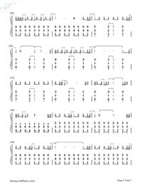 Amnesia-5 Seconds of Summer Free Piano Sheet Music & Piano Chords