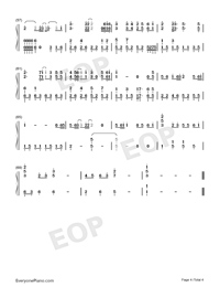 Love Struck Me Down-Divorce Lawyers Theme-Numbered-Musical-Notation-Preview-4