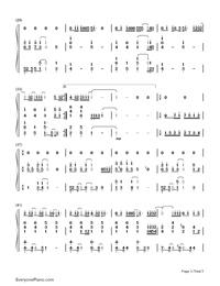 Niji-Kazunari Ninomiya-Numbered-Musical-Notation-Preview-3