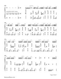 Niji-Kazunari Ninomiya-Numbered-Musical-Notation-Preview-4