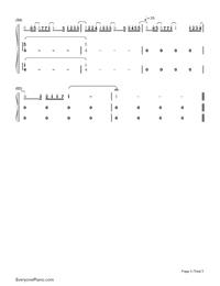 Niji-Kazunari Ninomiya-Numbered-Musical-Notation-Preview-5