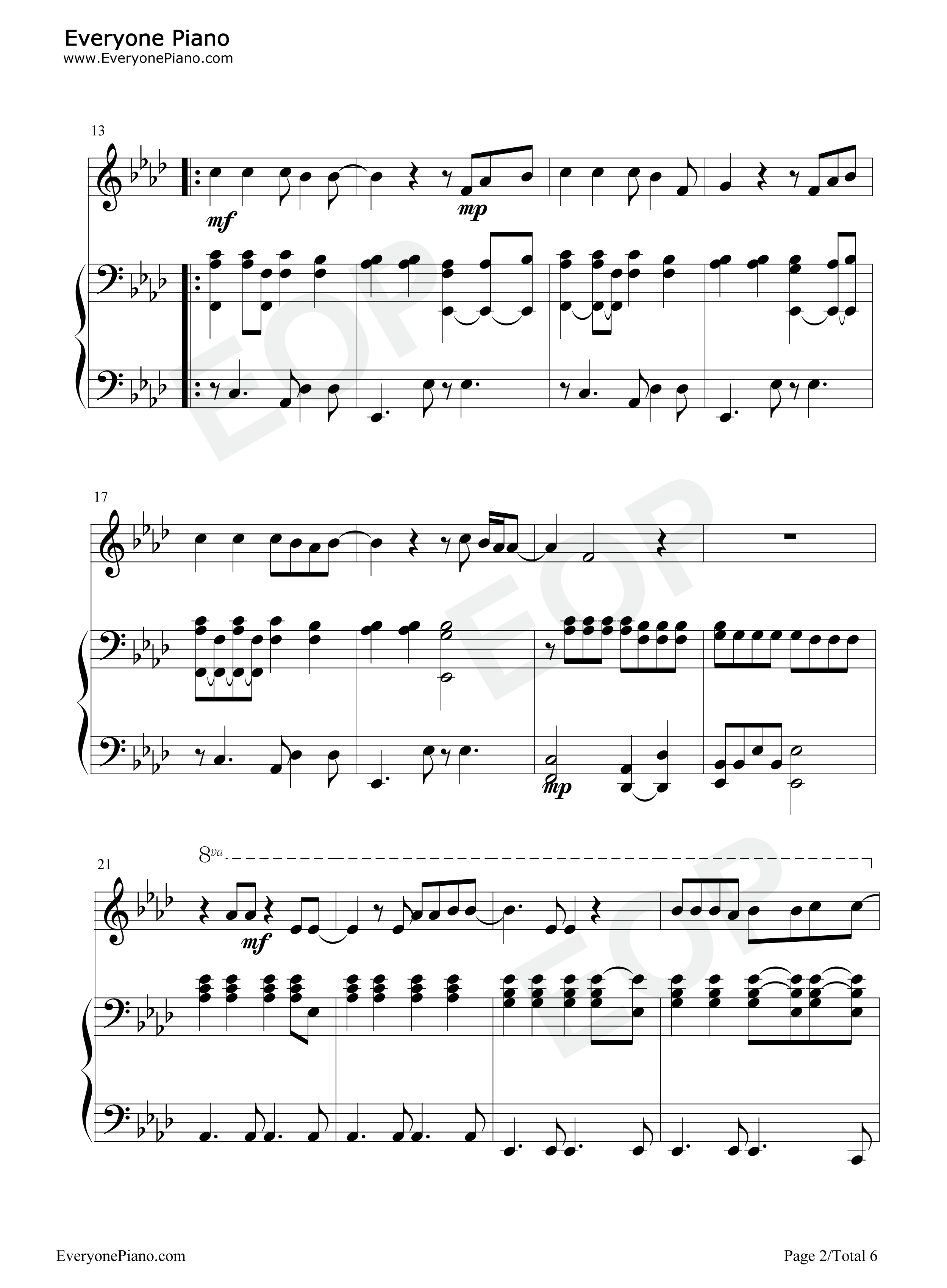 Run leona lewis stave preview 2 free piano sheet music piano chords listen now print sheet run leona lewis stave preview 2 hexwebz Images