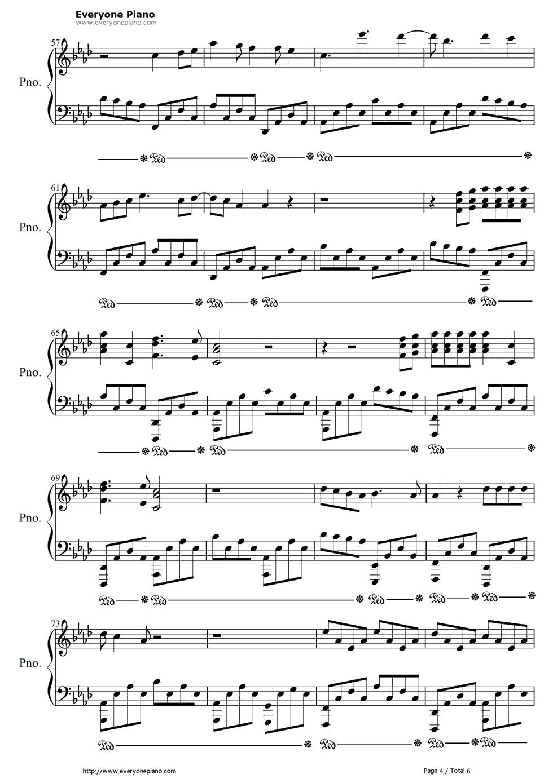 This Is What It Feels Like-Armin van Buuren Free Piano Sheet Music ...