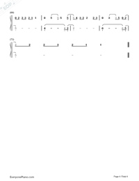 Domino-Jessie J雙手簡譜預覽4