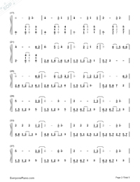 All of Me Full Version-John Legend Numbered Musical Notation Preview 2