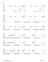 All of Me Full Version-John Legend Numbered Musical Notation Preview 4