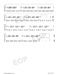 Mariage D'amour-Dream Wedding-C Major-Numbered-Musical-Notation-Preview-2