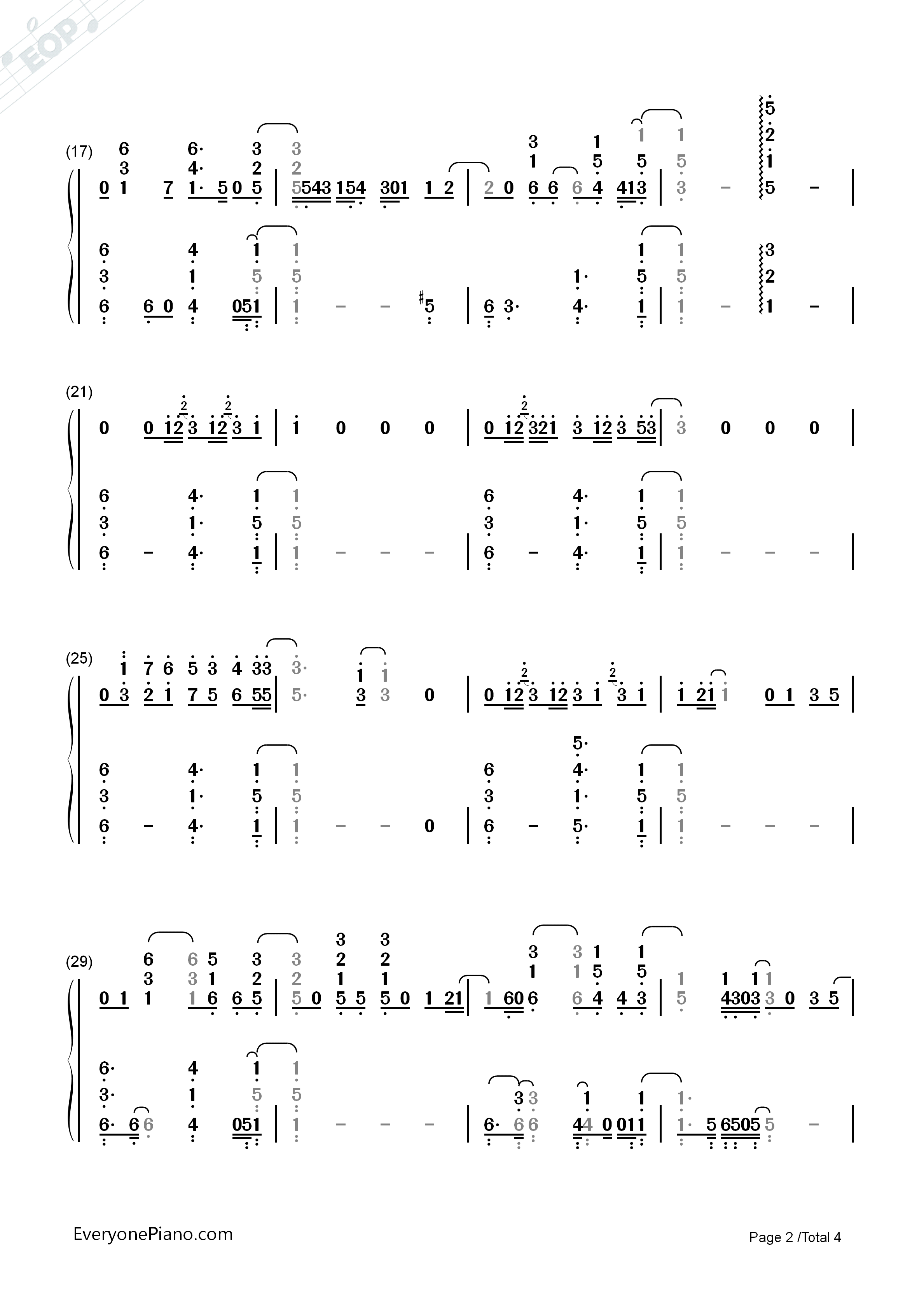 Stay with me full version sam smith numbered musical notation listen now print sheet stay with me full version sam smith numbered musical notation preview 2 hexwebz Images