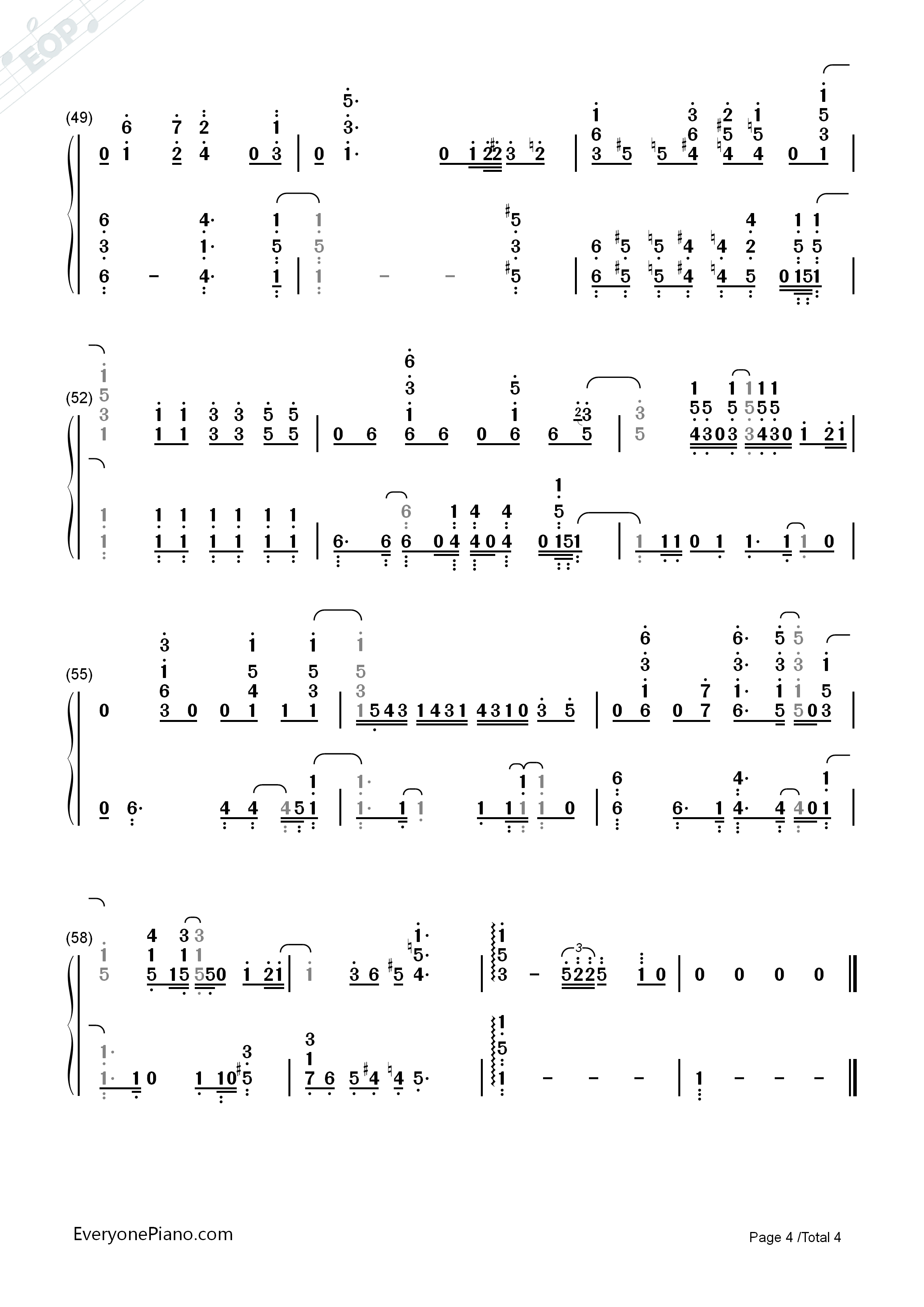 Stay with me full version sam smith numbered musical notation listen now print sheet stay with me full version sam smith numbered musical notation preview 4 hexwebz Images