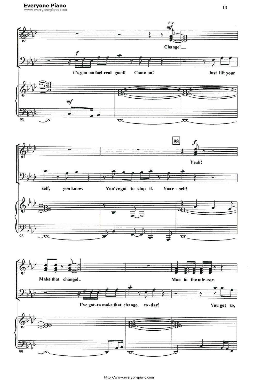 mirror night piano sheet pdf