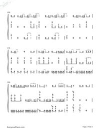 六等星の夜-NO.6 ED両手略譜プレビュー2