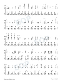 Papermoon-Soul Eater OP2 Free Piano Sheet Music & Piano Chords