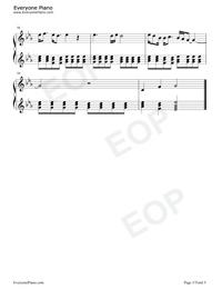 3月9日-1リットルの涙挿入歌五線譜プレビュー5