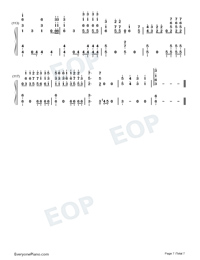 Moonlight-EXO-Numbered-Musical-Notation-Preview-7
