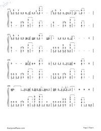 I'm Not the Only One-Sam Smith Numbered Musical Notation Preview 2
