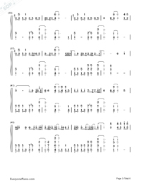 I'm Not the Only One-Sam Smith Numbered Musical Notation Preview 3