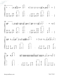 I'm Not the Only One-Sam Smith Numbered Musical Notation Preview 5