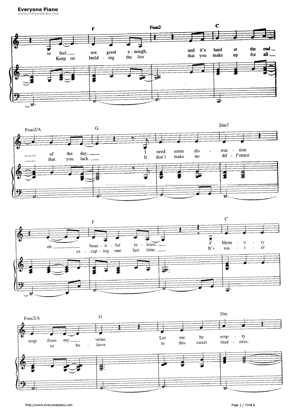 in the arms of an angel sheet music pdf