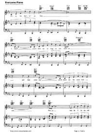 Crazy-Patsy Cline Free Piano Sheet Music & Piano Chords