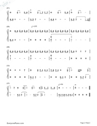 Man On The Street Plays Beautifully-Ryan-Numbered-Musical-Notation-Preview-2