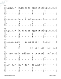 Blank Space-Taylor Swift-Numbered-Musical-Notation-Preview-2