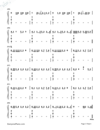 Blank Space-Taylor Swift-Numbered-Musical-Notation-Preview-3