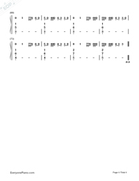 Blank Space-Taylor Swift-Numbered-Musical-Notation-Preview-4
