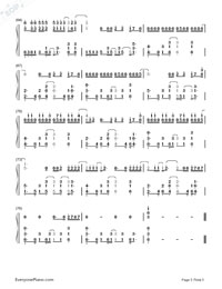 The Heart Wants What It Wants-Selena Gomez-Numbered-Musical-Notation-Preview-5
