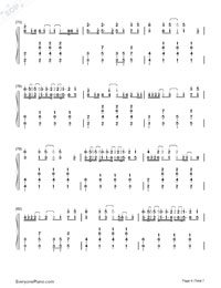 Love Me Harder-Ariana Grande & The Weeknd-Numbered-Musical-Notation-Preview-6