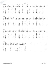 Love Me Harder-Ariana Grande & The Weeknd-Numbered-Musical-Notation-Preview-7