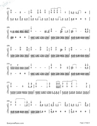 My Heart Will Go On-Perfect Version-Titanic Theme-Numbered-Musical-Notation-Preview-2