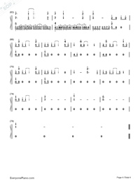 My Heart Will Go On-Perfect Version-Titanic Theme-Numbered-Musical-Notation-Preview-4
