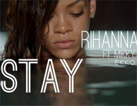 Stay-Rihanna ft. Mikky Ekko