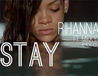 Stay-Rihanna ft. Mikky Ekko