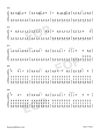 Last Christmas-Taylor Swift-Numbered-Musical-Notation-Preview-4