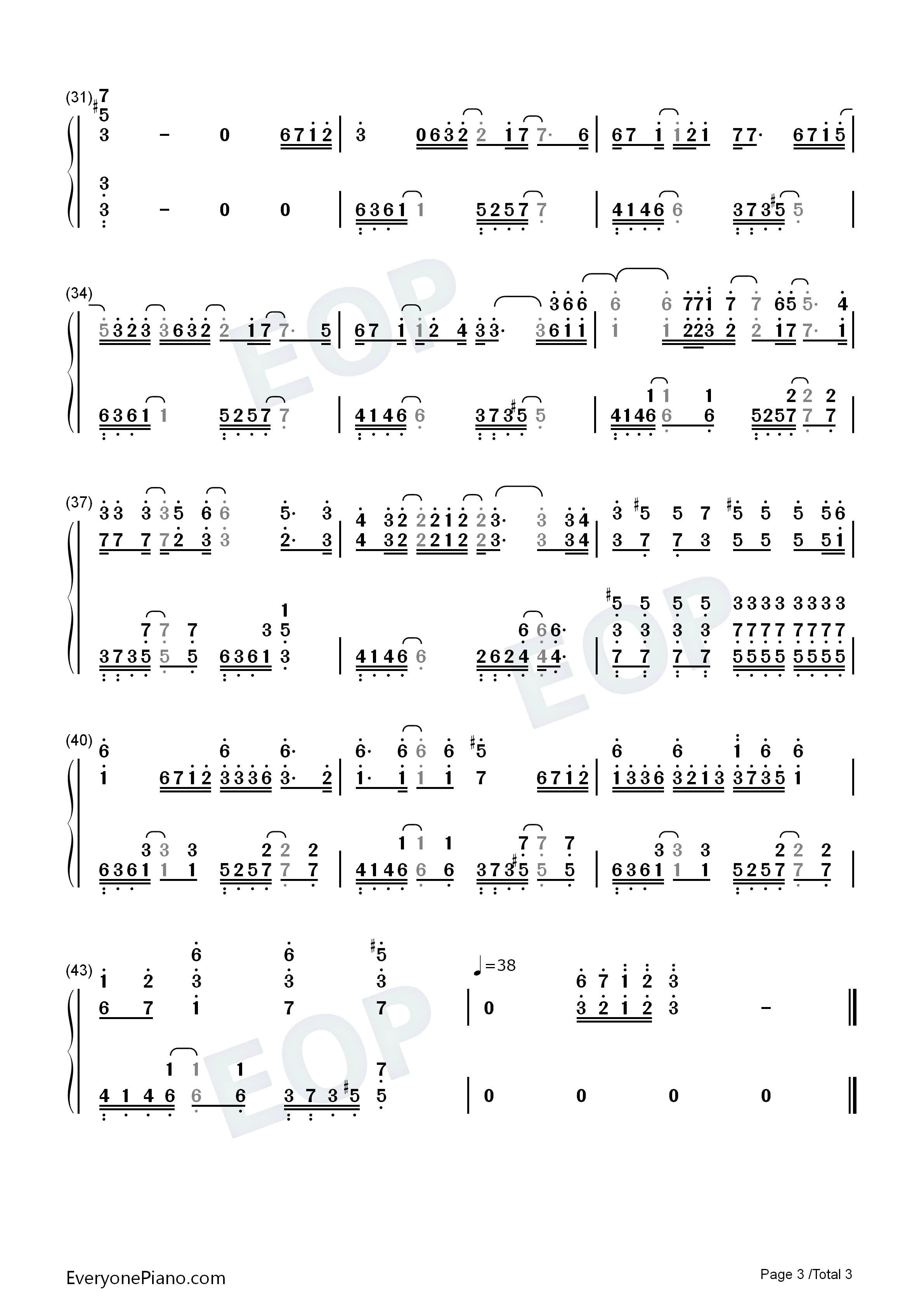 Mary Did You Know-Pentatonix Numbered Musical Notation Preview 3-Free Piano Sheet Music u0026 Piano ...