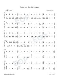 Where Are You Christmas-The Piano Guys Free Piano Sheet Music ...