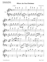 waterfall piano guys sheet music pdf