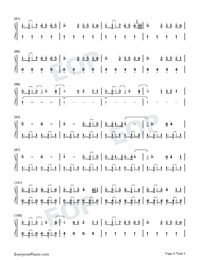 I Lived-OneRepublic-Numbered-Musical-Notation-Preview-4