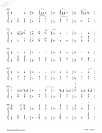 Merry-Go-Round of Life-Howl's Moving Castle Theme-Numbered-Musical-Notation-Preview-4