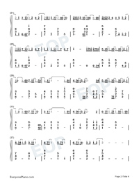 Nothing's Gonna Change My Love for You Numbered Musical Notation Preview 2