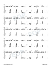 Nothing's Gonna Change My Love for You-Numbered-Musical-Notation-Preview-3