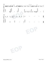 Nothing's Gonna Change My Love for You Numbered Musical Notation Preview 4