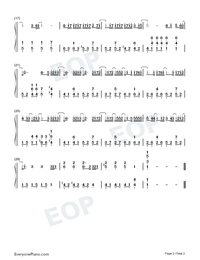 What Kind of Man-Jay Chou-Numbered-Musical-Notation-Preview-2