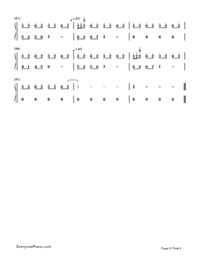Flower Dance-Simple Version-C Major-Numbered-Musical-Notation-Preview-6
